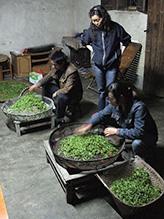 Металлическое сито для сушки зеленого чая над углями