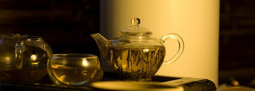 Заваривание желтого чая
