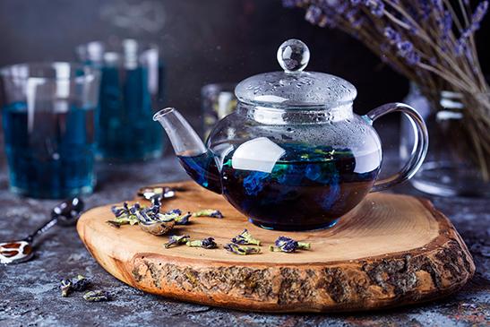 как заваривать синий чай анчан