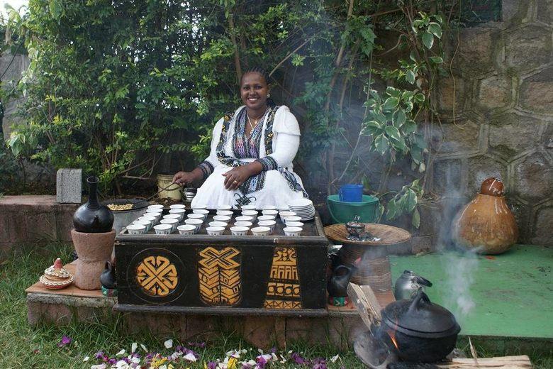 эфиопская кофейная церемония