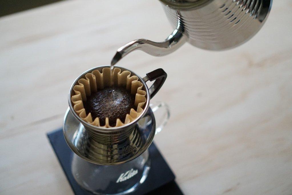 Воронка для приготовления фильтр-кофе Kalita Wave