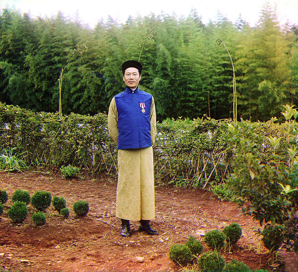 Китайский специалист Лау Чжон Джау в России