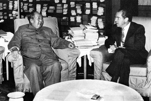 Встреча Мао Цзедуна и Ричарда Никсона