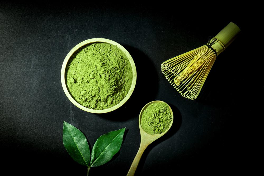 Японский порошковый зеленый чай матча