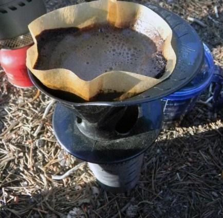 Воронка Melitta из пластика для приготовления фильтр-кофе в походных условиях