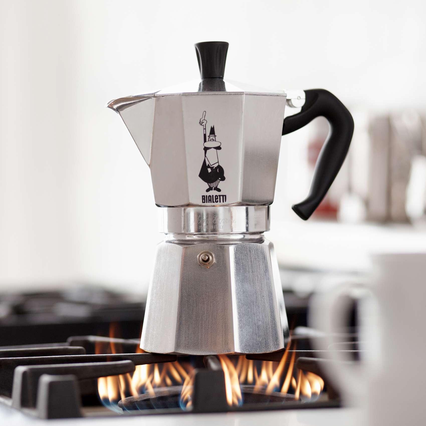 Moka Pot - кофеварка гейзерного типа
