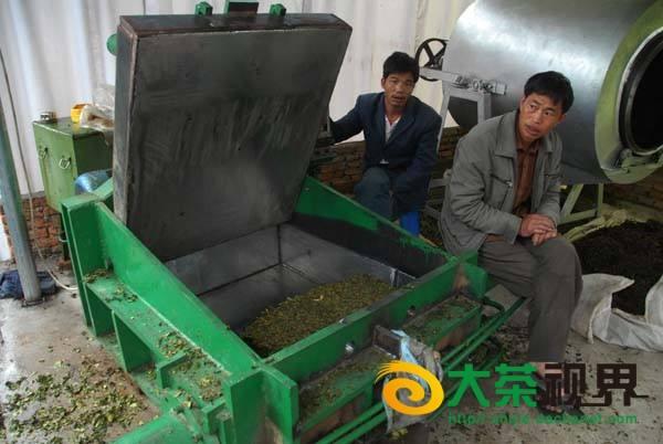 Фото оборудования для формирования чая в блоки