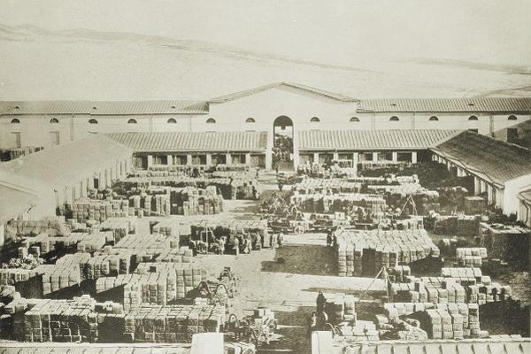 Чайный склад в Кяхте - Фотография из собрания М Золотарёва