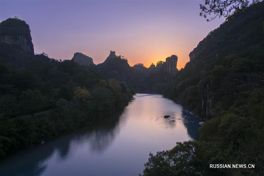 горы Уи или Уишань